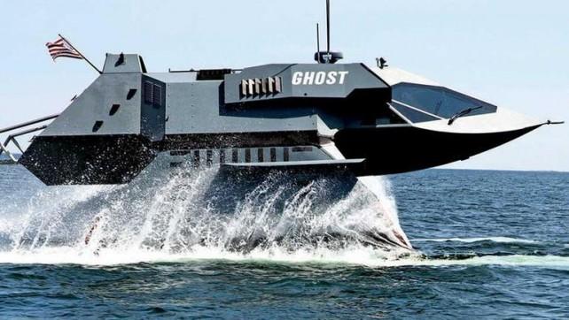 Video: Details regarding GHOST Stealth Attack Boat