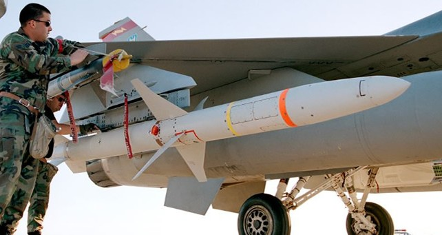 U.S. Air Force tests Raytheon's upgraded High-Speed Anti-Radiation Missile