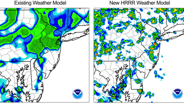 NOAA's weather forecasts go hyper-local with next-generation weather model