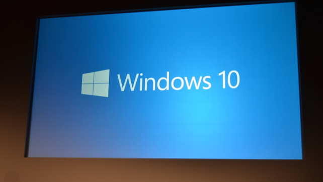 Microsoft Announces Windows 10 at San Francisco Conference