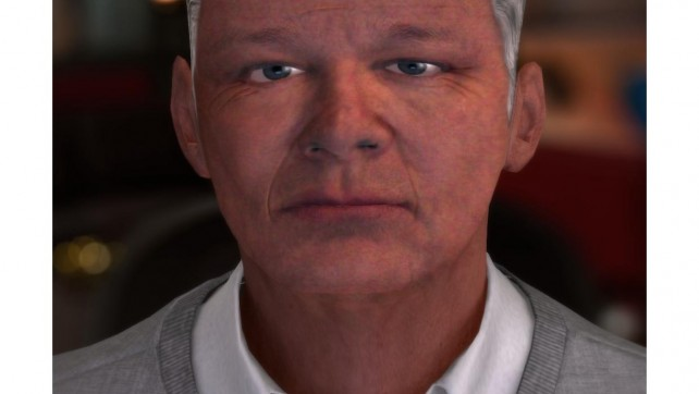 Online software produces an image of you 20 years from now.